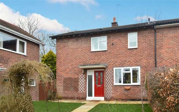 2 Bedrooms End Of Terrace House for sale in Countess Close, Macclesfield, Cheshire