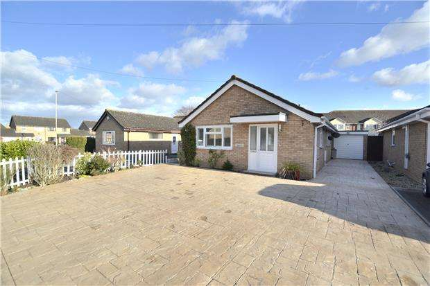 2 Bedrooms Detached Bungalow for sale in Laburnum Gardens, Quedgeley, GLOUCESTER, GL2 4WF