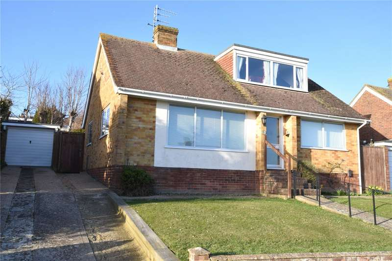 3 Bedrooms Detached Bungalow for sale in Heyshott Close, North Lancing, West Sussex, BN15