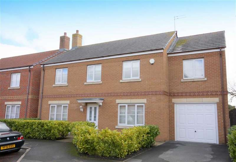 5 Bedrooms Detached House for sale in Earlsmeadow, Earsdon View, Tyne & Wear, NE27