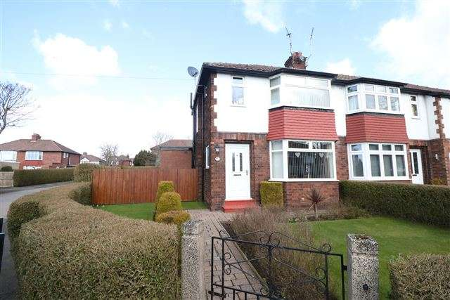 3 Bedrooms Semi Detached House for sale in Knowe Park Avenue, Carlisle, Cumbria, CA3 9EN