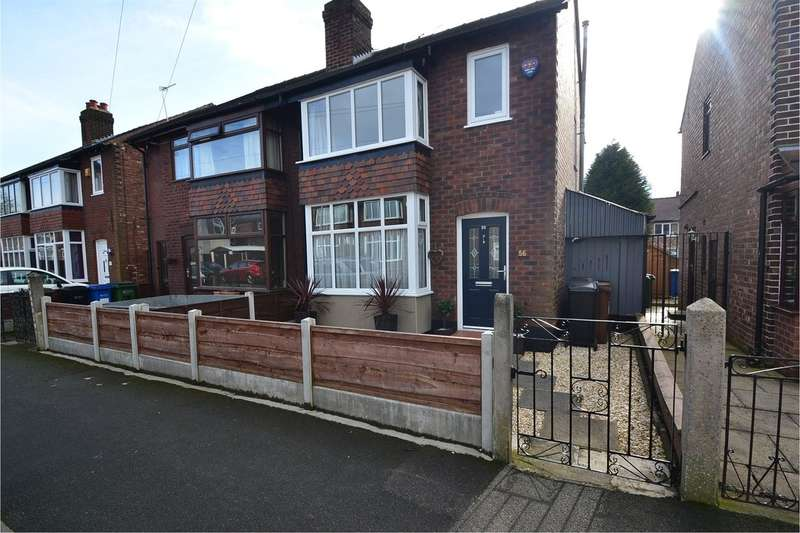 3 Bedrooms Semi Detached House for sale in Claremont Road, Great Moor, Stockport SK2 7DQ