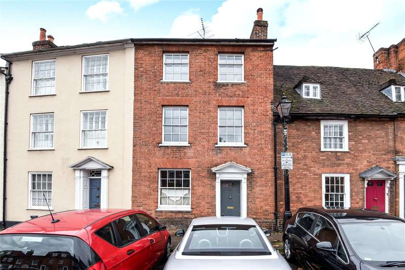 4 Bedrooms Terraced House for sale in Castle Street, Farnham, Surrey, GU9