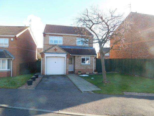 3 Bedrooms Detached House for sale in ABBOTS GREEN, WILLINGTON, BISHOP AUCKLAND