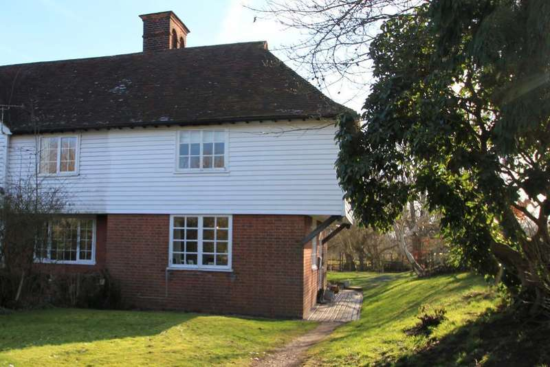 3 Bedrooms End Of Terrace House for sale in Ladham Road, Goudhurst, Kent, TN17 1DA