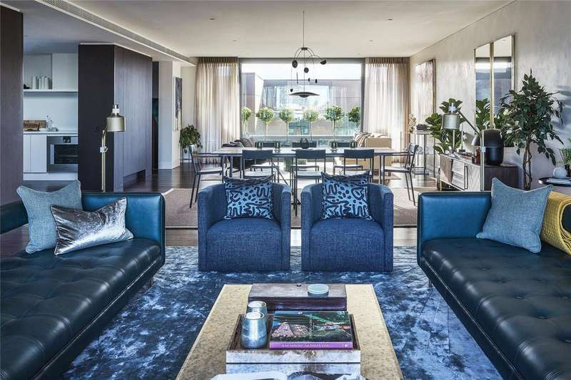 4 Bedrooms Penthouse Flat for sale in Rathbone Square, Rathbone Place, Fitzrovia, London, W1T