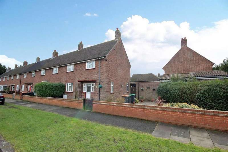 3 Bedrooms End Of Terrace House for sale in Mareth Road, Bedford