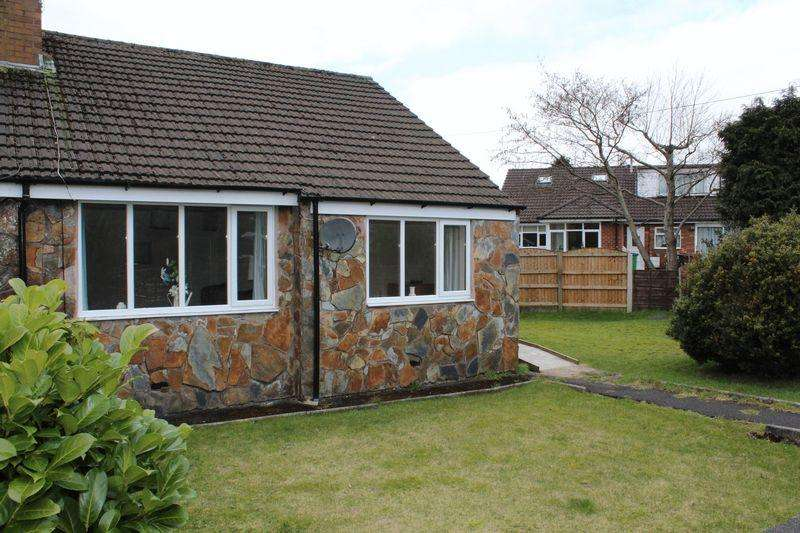 2 Bedrooms Semi Detached Bungalow for sale in Hillside View, Milnrow, Rochdale, OIL16 3EH