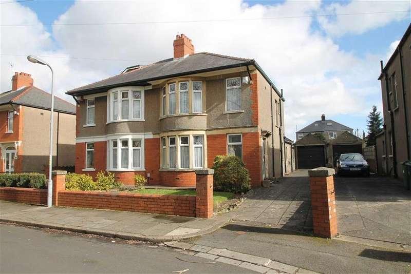 3 Bedrooms Semi Detached House for sale in St. Edwen Gardens, Heath, Cardiff