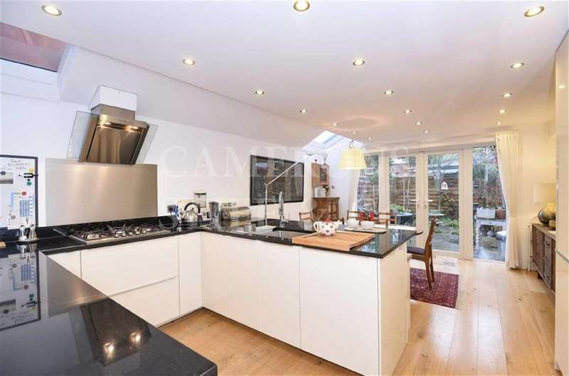 4 Bedrooms Terraced House for sale in Churchill Road, Willesden Green, London, NW2