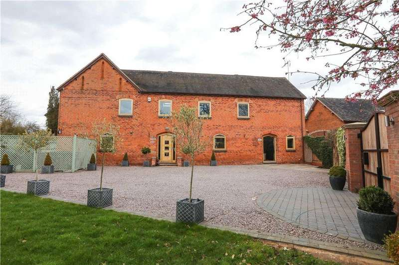 3 Bedrooms Barn Conversion Character Property for sale in Haye Lane, Mappleborough Green, Studley, B80