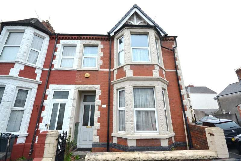 5 Bedrooms End Of Terrace House for sale in Tewkesbury Street, Cathays, Cardiff, CF24