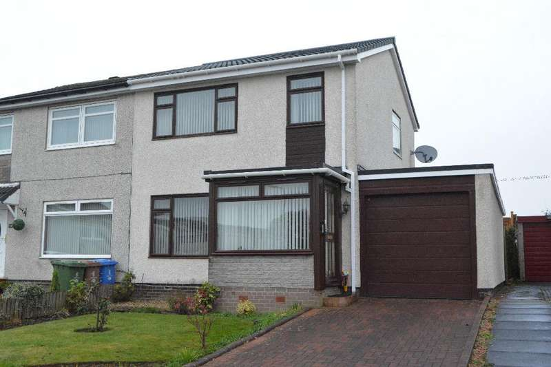 3 Bedrooms Semi Detached House for sale in Innerpeffray Drive, Falkirk, Falkirk, FK2 8BN