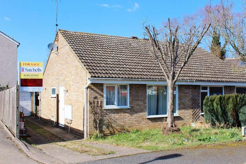 2 Bedrooms Semi Detached Bungalow for sale in Kipling Close, Hitchin, SG4