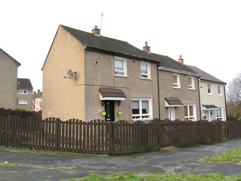 2 Bedrooms End Of Terrace House for sale in Blairbeth Place, Rutherglen, Glasgow