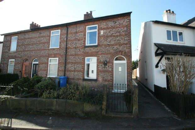 2 Bedrooms End Of Terrace House for sale in Church Lane, SALE