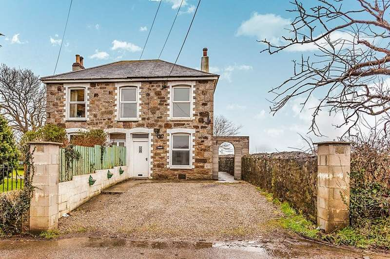 2 Bedrooms Semi Detached House for sale in Cathebedron Road, Carnhell Green, Camborne, TR14