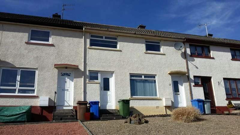 2 Bedrooms Terraced House for sale in Roderick Lawson Terrace, Maybole, KA19