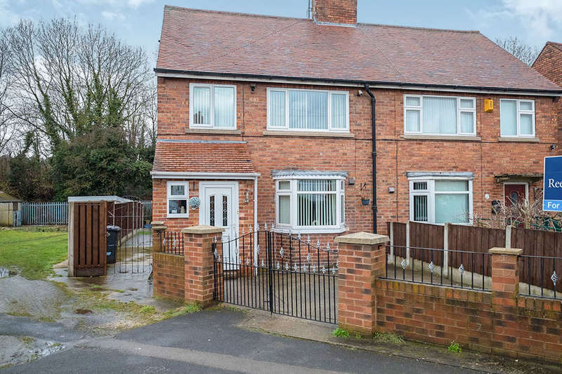 3 Bedrooms Semi Detached House for sale in Wilberforce Road, South Anston, Sheffield, S25