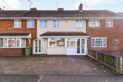 3 Bedrooms Terraced House for sale in Bloxwich Lane, Beechdale, Walsall