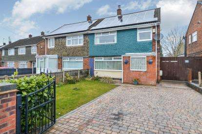 3 Bedrooms Semi Detached House for sale in Highfield Road, Clipstone Village, Mansfield