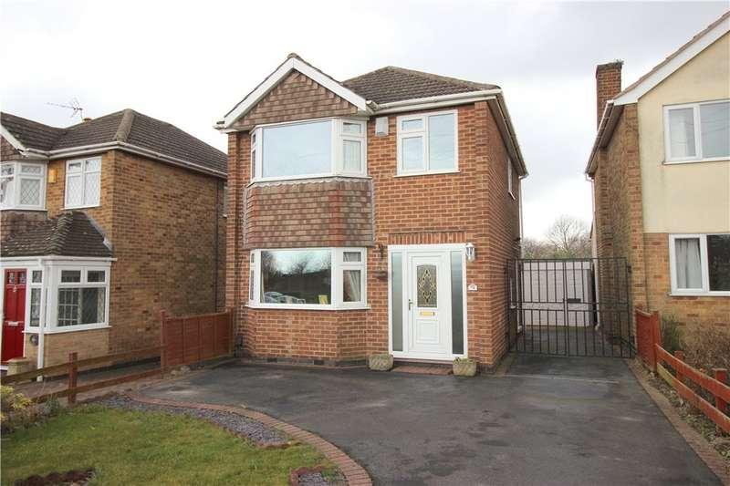 3 Bedrooms Detached House for sale in Sandringham Drive, Spondon, Derby, Derbyshire, DE21