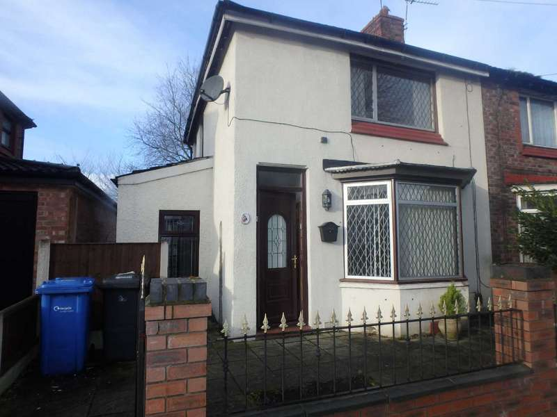 2 Bedrooms Semi Detached House for sale in Wellfield Street, Warrington