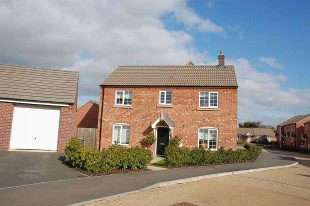 4 Bedrooms Detached House for sale in The Furrows, Moulton, Northampton NN3 7DA