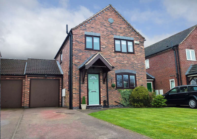 3 Bedrooms Semi Detached House for sale in Radford Meadow, Castle Donington