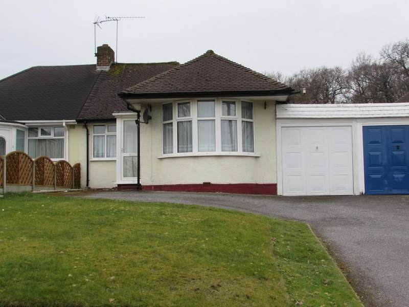 3 Bedrooms Semi Detached Bungalow for sale in Hobs Moat Road, Solihull
