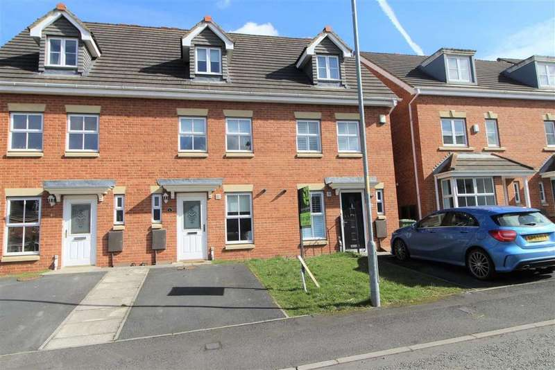 3 Bedrooms Town House for sale in Rosebud Close, Swalwell, Tyne Wear