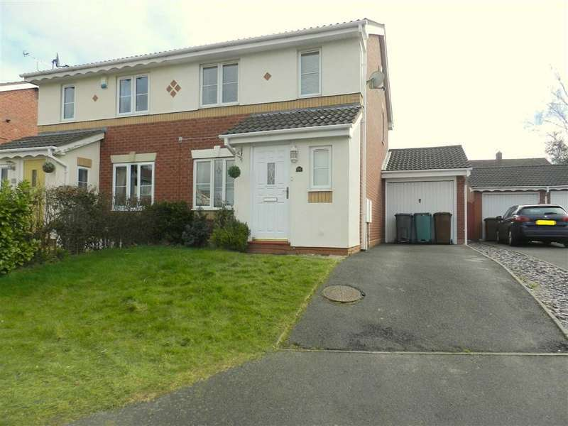 3 Bedrooms Semi Detached House for sale in Barn Owl Drive, Walsall, West Midlands