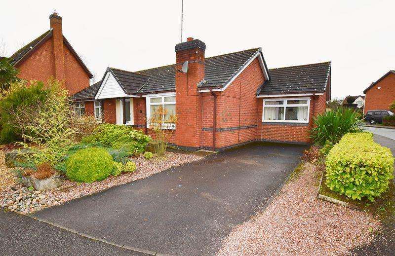 3 Bedrooms Detached Bungalow for sale in Ennerdale Drive, Congleton