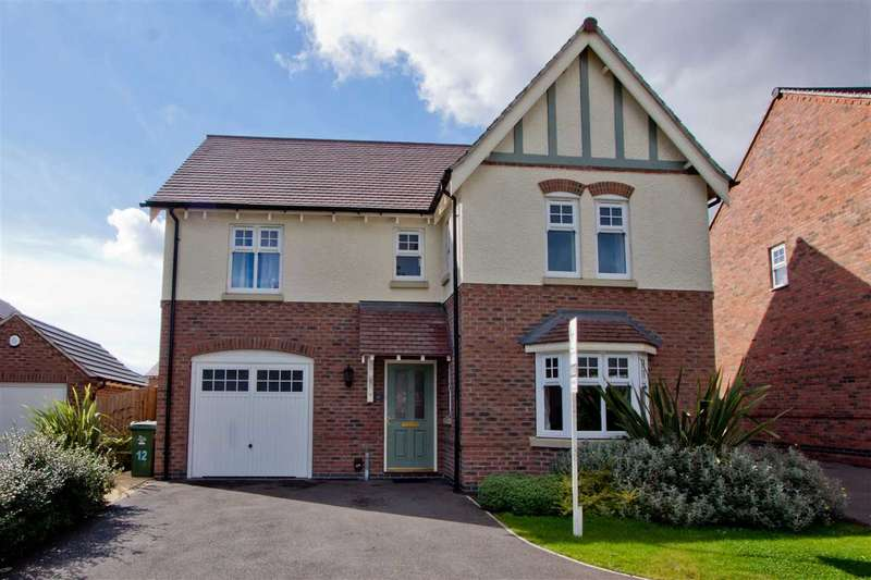 4 Bedrooms Detached House for sale in Gretton Drive, Anstey, Leicester