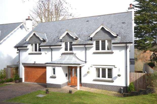 4 Bedrooms Detached House for sale in Clyst Hayes Gardens, Budleigh Salterton, Devon