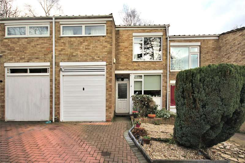 4 Bedrooms Terraced House for sale in Greenheys Place, White Rose Lane, Woking, Surrey, GU22
