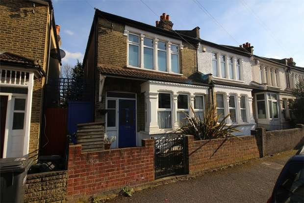 2 Bedrooms End Of Terrace House for sale in Estcourt Road, South Norwood, London