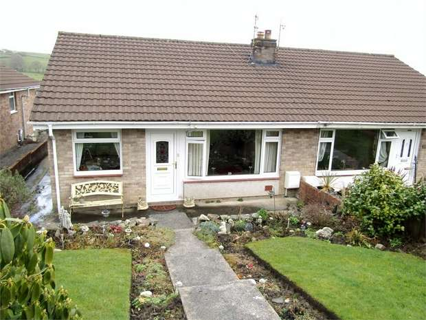 2 Bedrooms Semi Detached Bungalow for sale in Llwynifan, Llangennech, Llanelli, Carmarthenshire