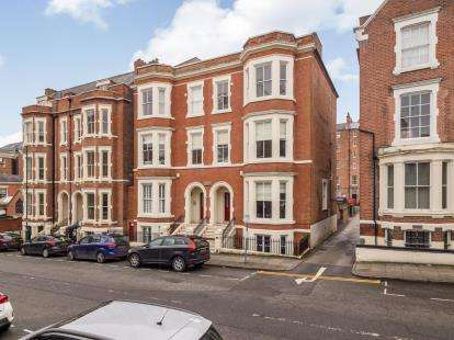 2 Bedrooms Flat for sale in Wellington Court, East Circus Street, Nottingham, Nottinghamshire