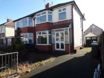 3 Bedrooms Semi Detached House for sale in Leicester Avenue, Thornton-Cleveleys, FY5