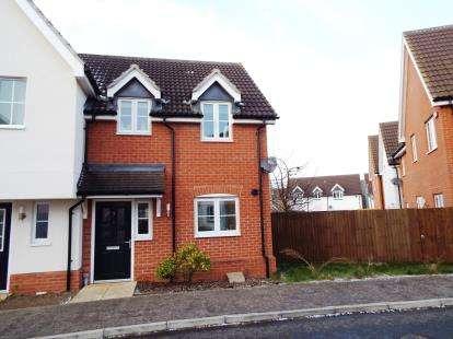 2 Bedrooms Semi Detached House for sale in Great Waldingfield, Sudbury, Suffolk