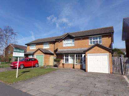 4 Bedrooms Detached House for sale in St Andrews Crescent, Stratford Upon Avon