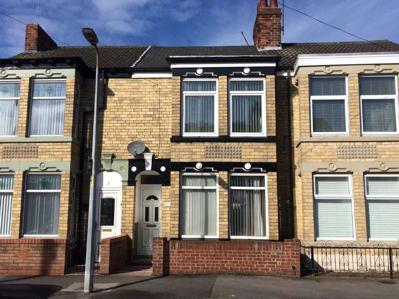 3 Bedrooms Terraced House for sale in Whitworth Street, Southcoates Avenue, Hull, HU9 3HB