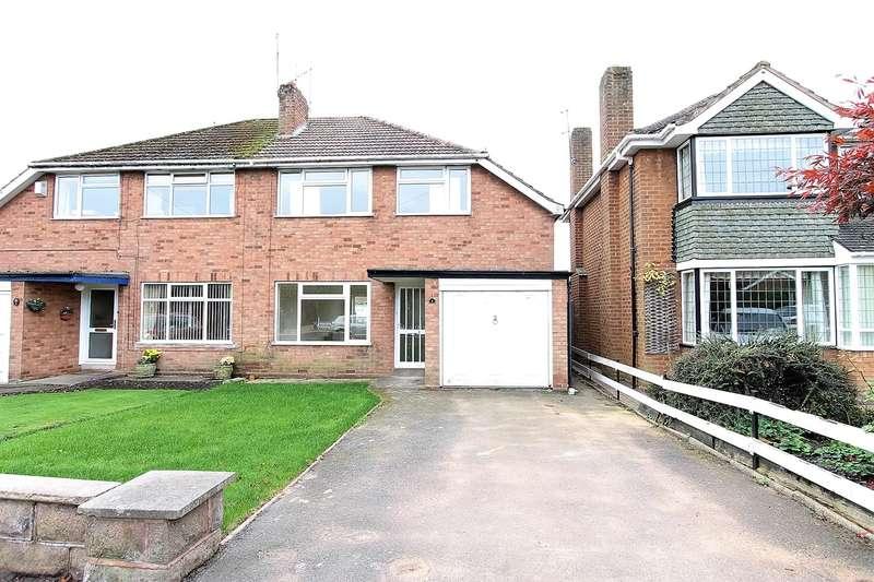 3 Bedrooms Semi Detached House for rent in Dene Avenue, Kingswinford, DY6