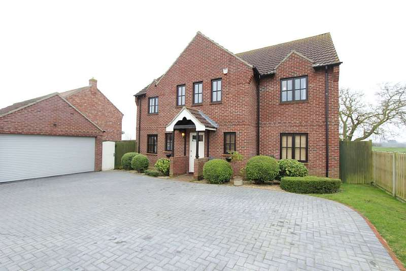 6 Bedrooms Detached House for sale in Chapel Lane, Little Hale, Sleaford, Lincolnshire, NG34