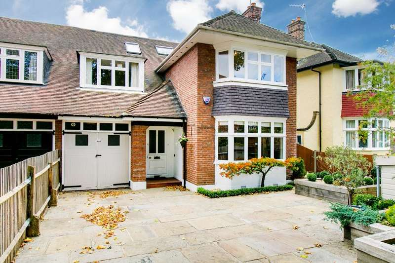 6 Bedrooms Semi Detached House for sale in Vicarage Road, East Sheen, SW14