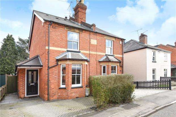 3 Bedrooms Semi Detached House for sale in Cromwell Road, Ascot, Berkshire