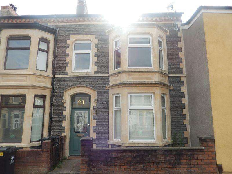 3 Bedrooms Terraced House for sale in Penllyn Road, Canton, Cardiff