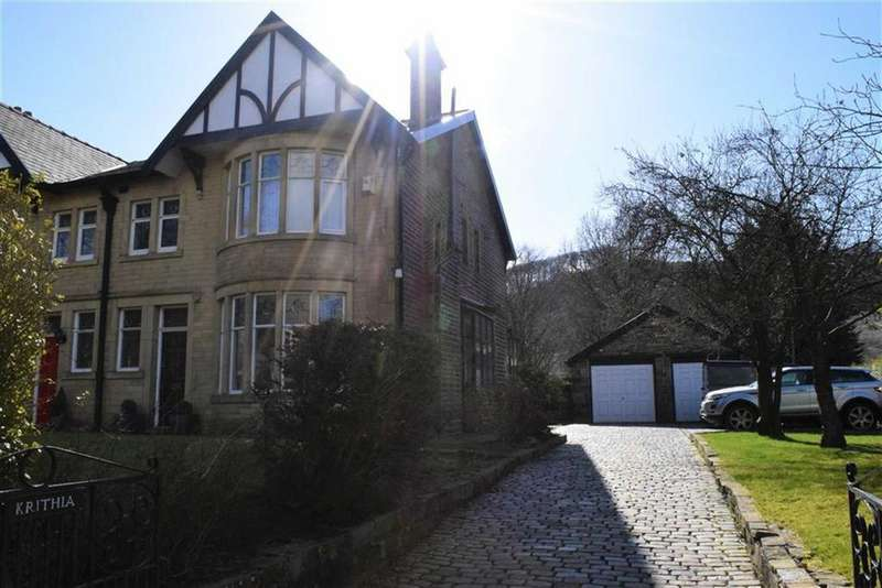 4 Bedrooms Semi Detached House for sale in Burnley Road, Cliviger, Lancashire