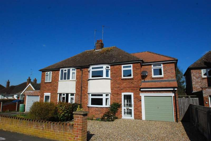 3 Bedrooms Semi Detached House for sale in Minden Drive, Bury St. Edmunds
